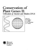 Conservation of Plant Genes II
