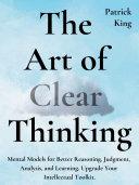 The Art of Clear Thinking Pdf/ePub eBook
