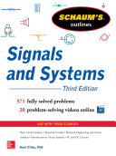 Schaum's Outline of Signals and Systems 3ed.