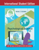 Cover of Psychological Science, 6th International Student Edition