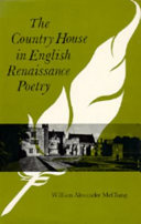 The Country House in English Renaissance Poetry