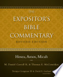 Hosea  Amos  Micah