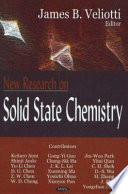 New Research On Solid State Chemistry Book PDF