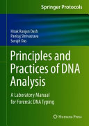 Principles And Practices Of Dna Analysis A Laboratory Manual For Forensic Dna Typing Book PDF