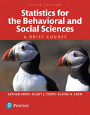 Statistics for the Behavioral and Social Sciences Book