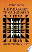 The Philosophy of Mathematics