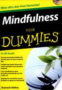 Mindfulness Voor Dummies Druk 1