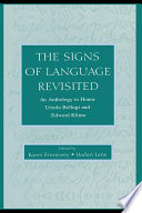 The Signs of Language Revisited Book