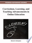 Curriculum  Learning  and Teaching Advancements in Online Education