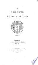 Annual Record