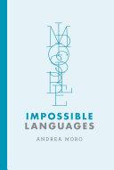 Pdf Impossible Languages Telecharger