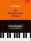 Chopin, F Introductory Album Pf