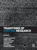 Pdf Traditions of Writing Research Telecharger