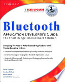 Bluetooth Application Developer s Guide Book