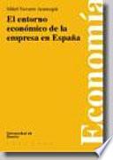 El entorno económico de la empresa en España