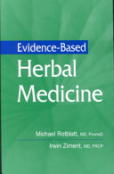 Evidence based Herbal Medicine Book