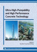 Ultra-High-Pumpability and High Performance Concrete Technology Pdf/ePub eBook