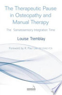 Therapeutic Pause in Osteopathy and Manual Therapy