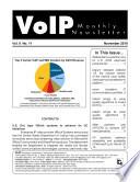 Voip Monthly Newsletter November 2010