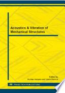 Acoustics   Vibration of Mechanical Structures