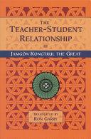 The Teacher-student Relationship