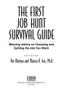 The First Job Hunt Survival Guide Book