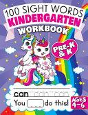 100 Sight Words Kindergarten Workbook Ages 4 6 Book PDF