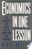 Economics In One Lesson PDF