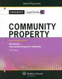 Community Property, Keyed to Blumberg