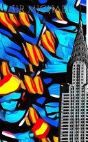 Iconic Chrysler Building New York City Sir Michael Huhn Pop Art Drawing Journal