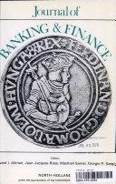 JOURNAL OF BANKING   FINANCE VOLUME 1