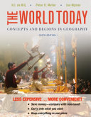 The World Today Concepts and Regions in Geography 6E Binder Ready Version + WileyPlus Registration Card