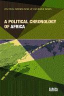A Political Chronology of Africa