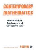 Mathematical Applications of Category Theory