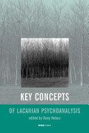 Key Concepts of Lacanian Psychoanalysis Pdf/ePub eBook