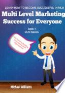 Multi Level Marketing Success For Everyone