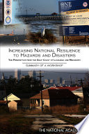 Increasing National Resilience To Hazards And Disasters
