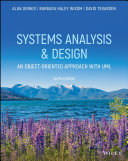 System Analysis   Design  an Object oriented Approach with UML Book