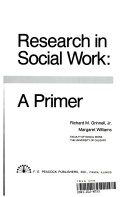 Research In Social Work A Primer