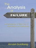 The Analysis of Failure