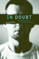 In Doubt: The Psychology of the Criminal Justice Process - Seite 324