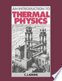 An Introduction to Thermal Physics Book