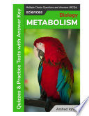 Metabolism Multiple Choice Questions And Answers Mcqs  Book PDF