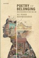 Poetry of Belonging Pdf/ePub eBook