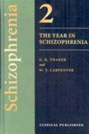 The Year in Schizophrenia Book