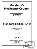 Markham S Negligence Counsel