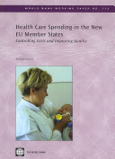Health Care Spending in the New EU Member States Book
