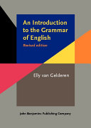 An Introduction to the Grammar of English