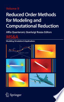 Reduced Order Methods For Modeling And Computational Reduction Book PDF
