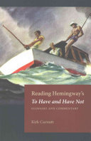 Reading Hemingway S To Have And Have Not